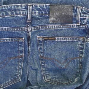 Vintage Harley Davidson Boot Cut Jeans 2L